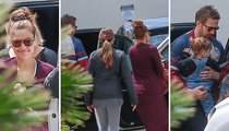 Ryan Gosling and Eva Mendes -- Lunch with First Kid ... New Baby Still Under Wraps (PHOTOS)