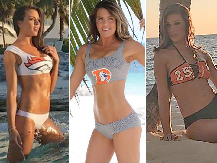 14bf6b9e56540 Broncos Cheeleaders -- Adios Clothes!! Hot Mexican Bikini Shoot (PHOTOS)    TMZ.com