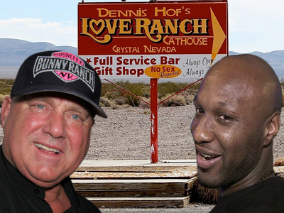 Lamar Odom -- Courted Back to Nevada Brothel ... 'No Drugs This Time'