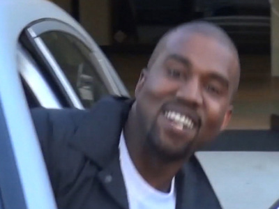 Kanye West -- So Cheerful Until His Maybach Goes South (VIDEO)