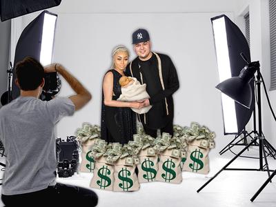Blac Chyna & Rob Kardashian -- 7-Figure Deal For First Baby Pics