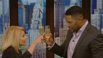 Michael Strahan -- Played Off During Bye-Bye Speech (VIDEO)
