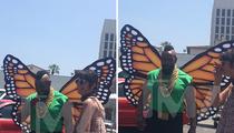 Mr. T -- Floatin' Like A Butterfly (PHOTOS)