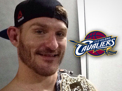 New UFC Champ Stipe Miocic -- VIP Invite from Cavs ... After Post-Fight Shout-Out