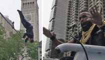 Mr. T -- Hey Fool ... Don't Fall Off The Rope! (VIDEO)