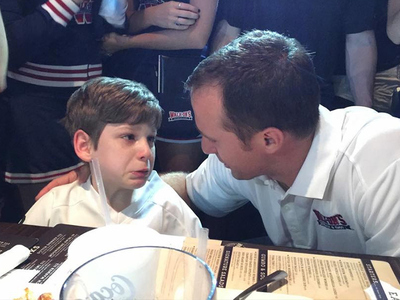 Drew Brees -- Surprises Special Needs Kid ... Is Best Guy Ever (VIDEO)