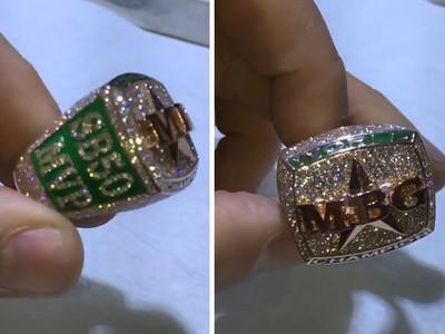 Von Miller -- Custom Super Bowl MVP Ring ... Drops $25k (VIDEO)