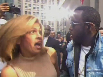 Puff Daddy -- Hoda Kotb Just Freaked Me! (VIDEO)
