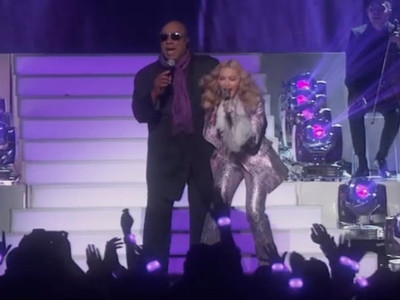 Madonna & Stevie Wonder -- Makin' It 'Purple Rain'