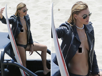 Kelly Rohrbach -- Lets It ALL Hang Out on the Beach ... Bae Watching Begins (PHOTOS)