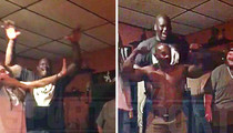 Shaq -- Goes Bonkers Over Hippy Rapper ... I'm Your Mentor Now! (VIDEO)