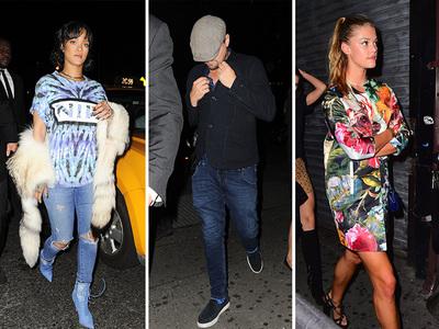 Rihanna, Leo DiCaprio, Nina Agdal -- Three's a Charm? (PHOTO)