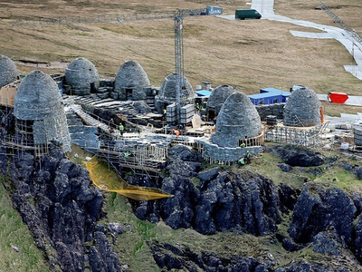'Star Wars: Episode VIII' -- 1st Jedi Temple Uncovered ... Maybe. (PHOTOS)