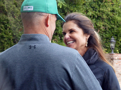 Maria Shriver -- All Smiles with BF ... But Still Spoken For (PHOTOS)
