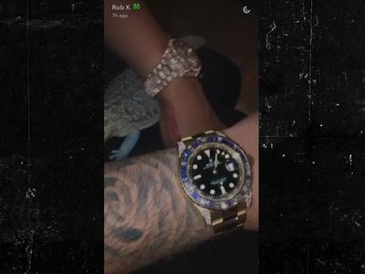 Rob Kardashian & Blac Chyna -- Time IS Money for Us ... $275k to Be Exact!! (VIDEO + PHOTO)