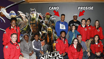 MLB's Robinson Cano -- Screens 'Ninja Turtles' For 150 Kids (PHOTOS)