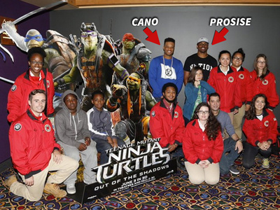 MLB's Robinson Cano -- Screens 'Ninja Turtles' For 150 Kids (PHOTOS)