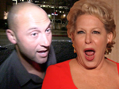 Derek Jeter -- Trolled By Bette Midler?