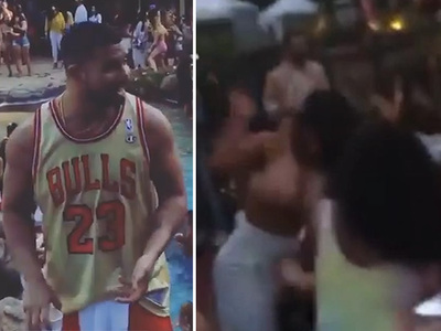 Drake -- Memorial Day Party Triggers Girl Fights, Cops, Paramedics (VIDEO)