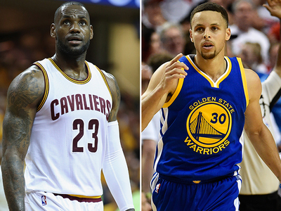 LeBron James vs. Steph Curry -- Who'd You Rather?!