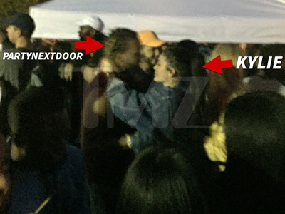 Kylie Jenner -- Hip to Hip with PartyNextDoor (VIDEO)
