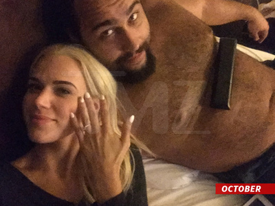 WWE Stars Lana and Rusev -- We're Having Two Weddings!