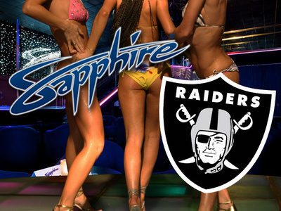 Vegas Strip Club To Raiders -- Free Lap Dances & Limo Rides FOREVER ... If The Team Moves