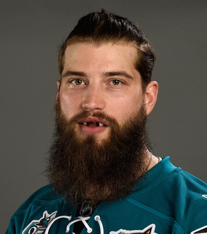 San Jose Sharks' Brent Burns' Shining Smile