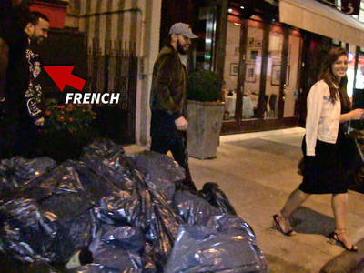 French Montana, Ashley Graham -- All Smiles After Dinner Date  (VIDEO)