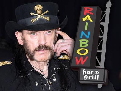 Motorhead's Lemmy Kilmister -- A Rainbow Tribute