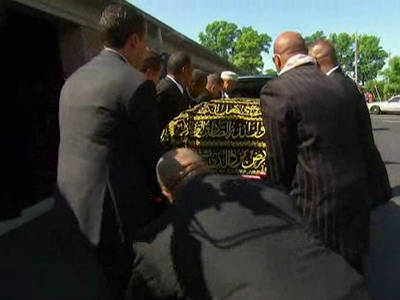 Muhammad Ali Memorial -- Celebs Ready to Pay Final Respects ... Procession Begins (VIDEO + PHOTOS)