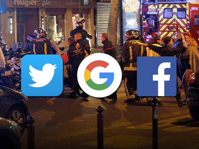 Paris Attacks -- Victim's Family Sues Social Media Giants ... You Let Terrorism Spread