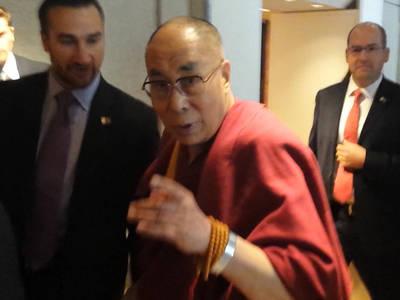 Dalai Lama -- My Favorite Richard Gere Movie Is ... (VIDEO)