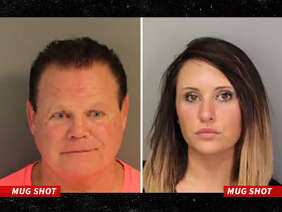 Jerry 'The King' Lawler -- Busted for Domestic Violence ... Pistol Involved (MUG SHOTS)