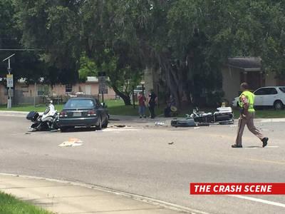 Orlando Shooting -- Car Barrels Into Victim Funeral Procession ... 2 Cops Hospitalized