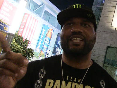 Quinton 'Rampage' Jackson -- I Turned Down 'Wolverine' Movie ... Had A Fight, Man (VIDEO)