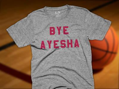 Ayesha Curry -- 'Bye Ayesha' Shirts ... Selling Like Crazy (PHOTO)