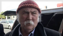 David Crosby -- Settles Horrific Jogger Accident for $3 Million (AUDIO)