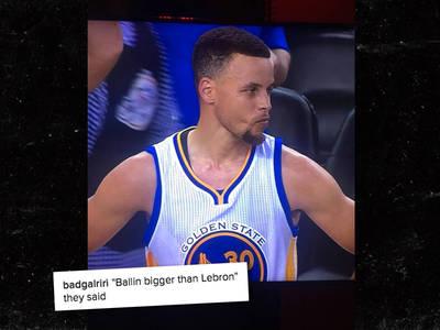 Rihanna -- Trolls Steph Curry ... You're No LeBron