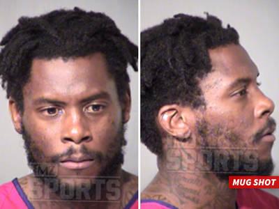 Ex-NFL WR -- Arrested By SWAT Team ... After Standoff In AZ (MUG SHOT)
