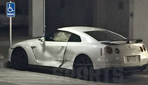 Johnny Manziel -- Another Mysterious Car Wreck (PHOTO GALLERY)