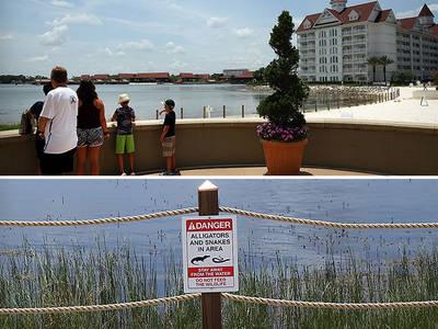 Disney -- Beaches Reopen ... Security Heightened