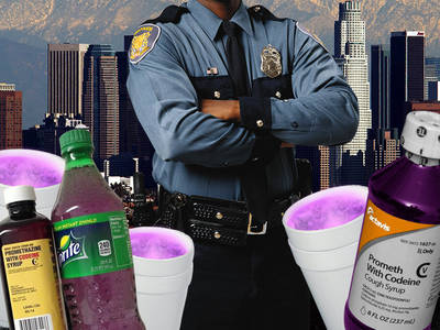 BET Awards Weekend -- LAPD On Alert for Sizzurp Sippin'