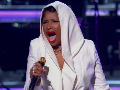 Jennifer Hudson at BET Awards -- Pays Off Prince Threat ... Look Away, Madonna (VIDEO)