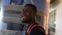 NFL's Cardale Jones -- No Way I'd Fight Paige VanZant ... She'd Destroy Me (VIDEO)