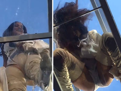 Rihanna -- Like That View, Don't Ya? (VIDEO)