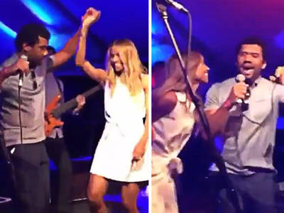 Russell Wilson & Ciara -- Double-Team Michael Jackson Hit (VIDEO)