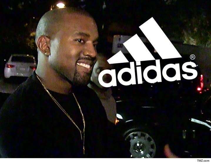 d2aef4420 Kanye West s new partnership with Adidas could make him A BILLION DOLLARS  ... TMZ has learned.
