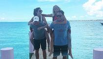 NFL's Matt Stafford -- Couples Beach Vacation ... With Matt Ryan (PHOTO)