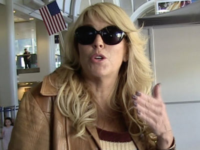 Dina Lohan -- Hell Week in Hospital Bed With Mystery Illness (PHOTO)